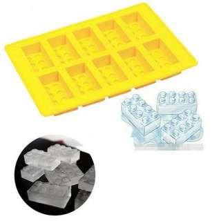 Lego Bricks Ice