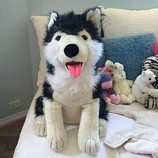 Large Plush Dog Toy
