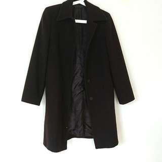 Sisley義大利製造 毛婗大衣