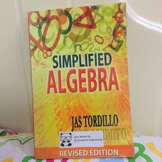Simplified Algebra By Jas Tordillo