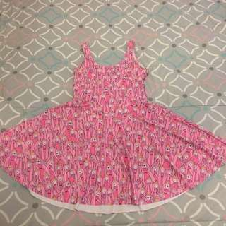 Black Milk Clothing Princess Bubblegum Skater Dress