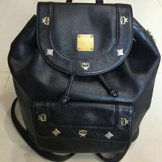 MCM BACKPACK WITH DUST BAG