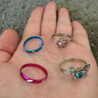 Kids Rings Set