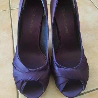 Size 8 Purple Heels