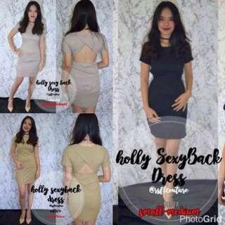 Holly Sexy Back Dress