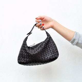 Bottega Veneta Intrecciato Small Pouch in Dark Brown (3816-65)
