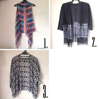 Kimono Cardigans for SALE‼️