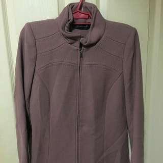 Zara Mauve Jacket Sz M