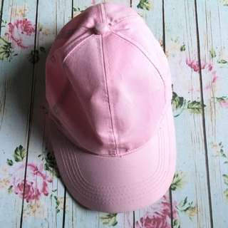 Topi Polos Soft Pink
