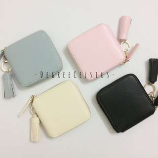 [RS] Mini Tassel Wallet