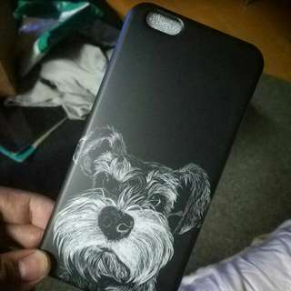 🚚 iPhone 6 / 6s / 7 / Plus 雪納瑞 狗狗 全包黑邊殼 不發黃 非法鬥 瑪爾濟斯
