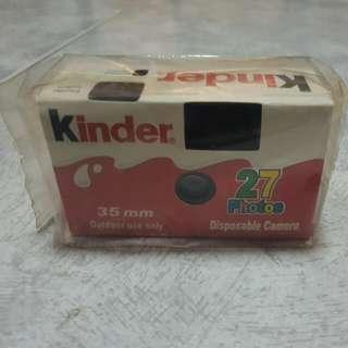 Brand New Kinder Disposable Camera