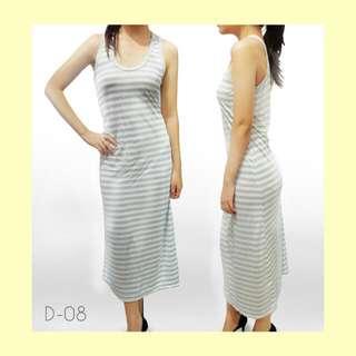 Long Dress Stripe