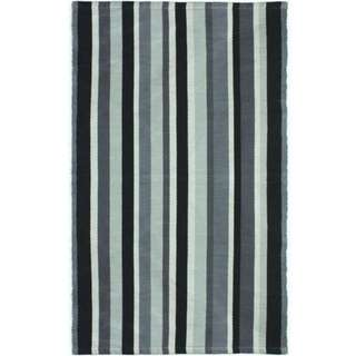 Home Trend Accent Mat Stripe - --MATCHES THE #BACHELOR STYLE# FABRIC SHOWER CURTAIN!!!