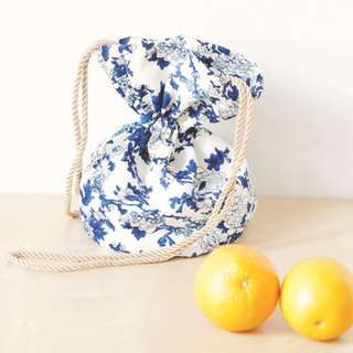 Sew a cute bag for oranges for CNY!