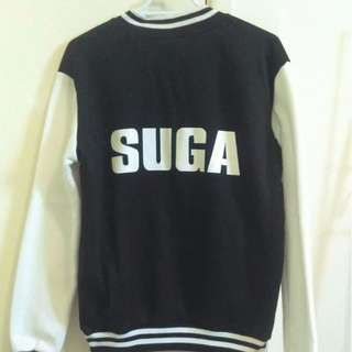 BTS Suga Varsity Jacket