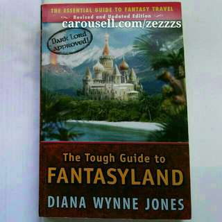 The Tough Guide to Fantasyland: The Essential Guide to Fantasy Travel by Diana Wynne Jones ~ Award-winning Fantasy Book