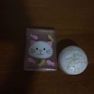 Bath Bomb And Soap