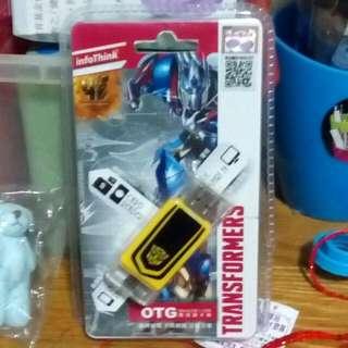 變形金剛-OTG雙頭讀卡機(MicroUSB x USB)