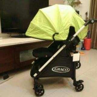 全新GRACO手推車型號citicargo購物型嬰幼兒手推車