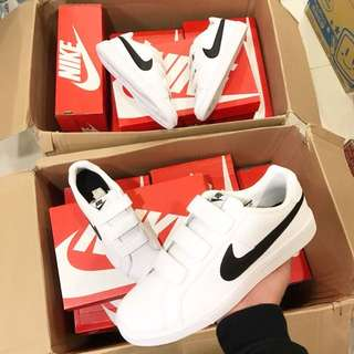 Nike Court Just Do It 魔鬼氈鞋