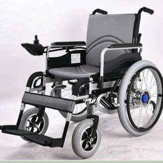 New Folding Electric Wheelchair