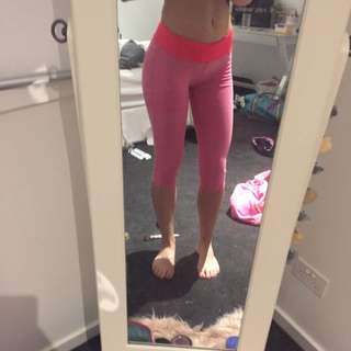 Pink Gym Tights