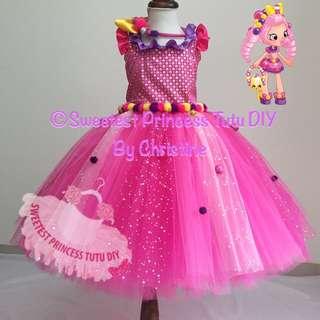 Shopkins Bubble Gum Character Tutu Dress