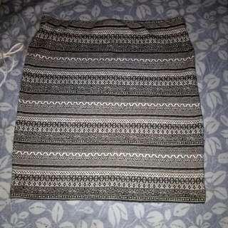 Pull N Bear Skirt Tribal