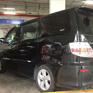(not Available) Toyota Alphard For Rent