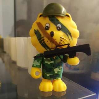 BNIP Brand New In Pack SG50 SINGA - Army Singa / Courtesy Lion Collectible