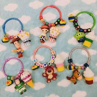 🎄聖誕限時優惠#客製-玩具總動員歡樂字母鑰匙圈