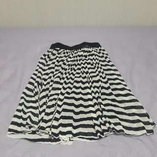 ChicSimple Stripes Skirt