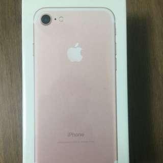 iPhone7 32G玫瑰金