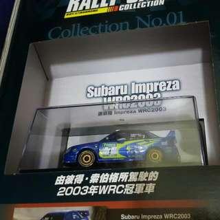 1:43 模型車(有兩部)hold by joetony