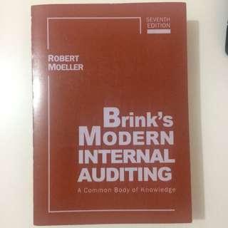 Brink's Modern Internal Auditing Robert Moeller