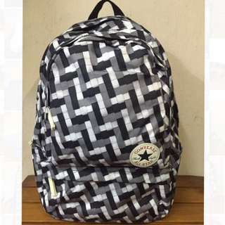 CONVERSE BACKPACK BLACK  RED b0a361afccc14