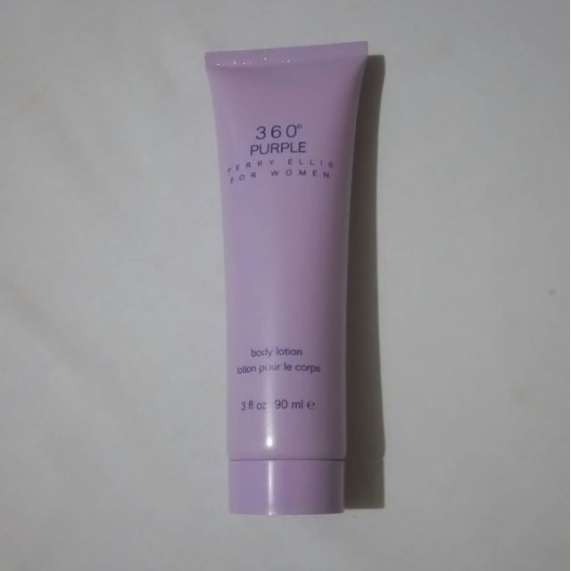 360 Perry Ellis For Women Purple Body Lotion