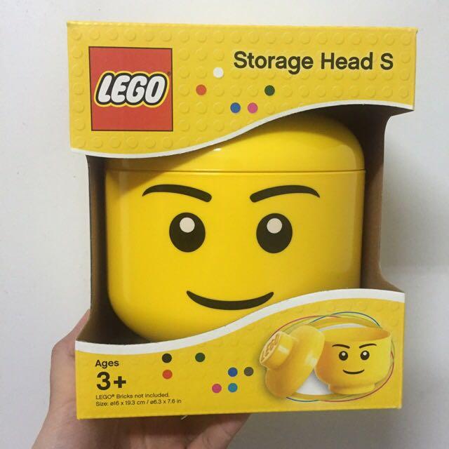樂高 Lego 笑臉 收納桶