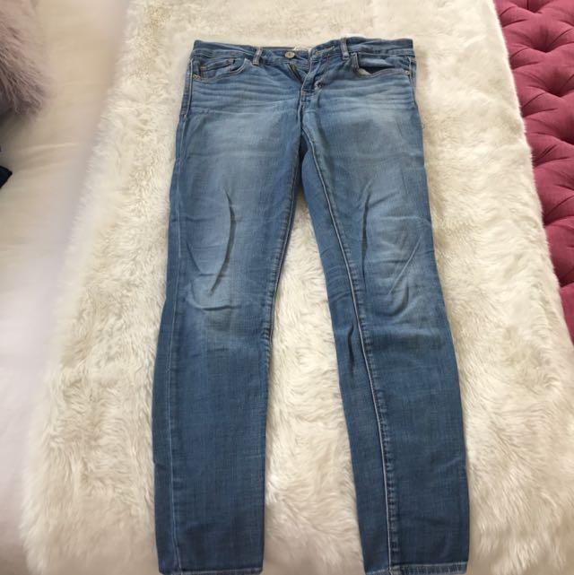 Abercrombie And Fitch Light Wash Jeans