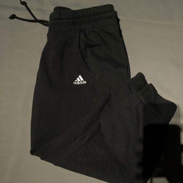Adidas Black Capris Medium