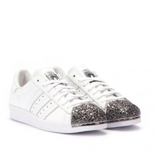 Adidas Superstar 80S Silver Metal Toe Cap 1776455a9