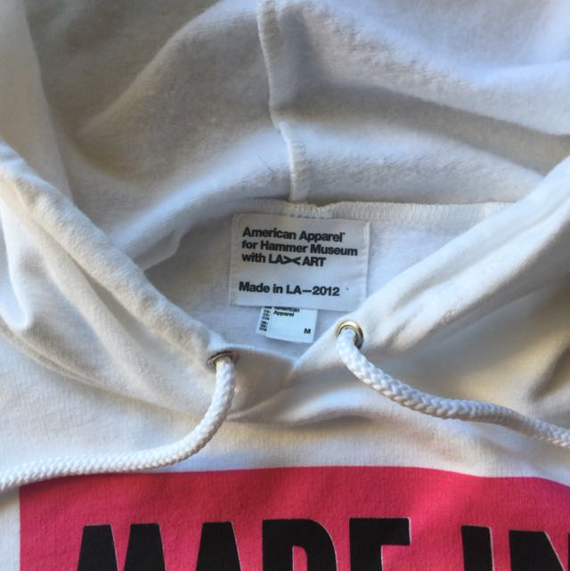 American Apparel Made in LA Hoodie