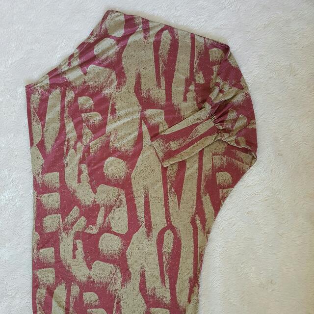 Assymetrical Maxi dress