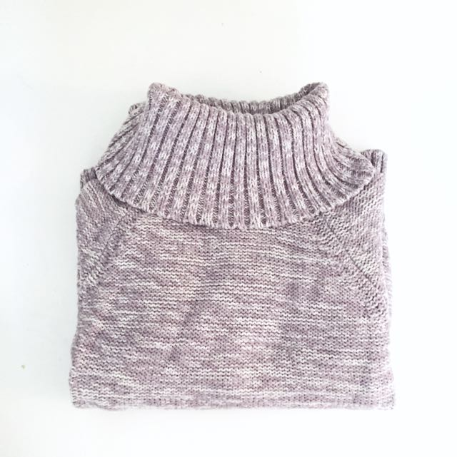 Banana Republic Knit Lavender Sweater