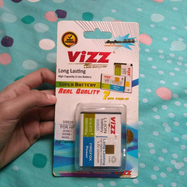 Batre Long Lasting Vizz