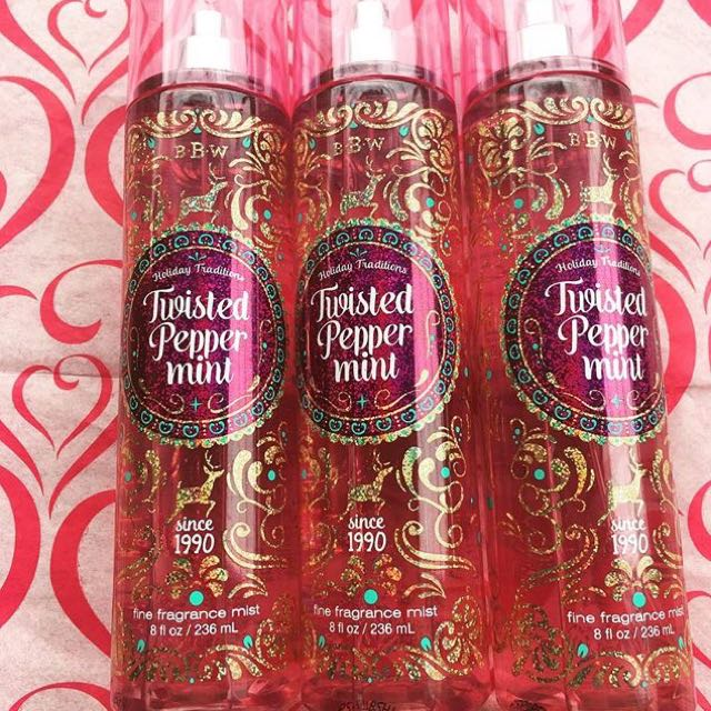 BBW TWISTED PEPPERMINT MIST