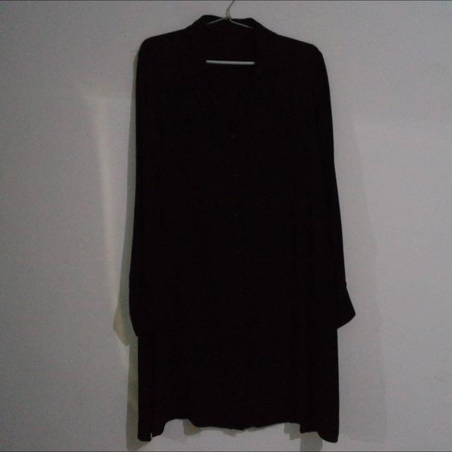 black n white tunic