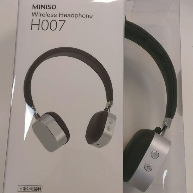 228167e6a78 Bnew Sealed Miniso H007 Bluetooth Headphones, Men's Fashion, Accessories on  Carousell