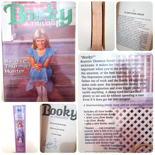 Booky By Bernice Thurman Hunter (Free Shipping)